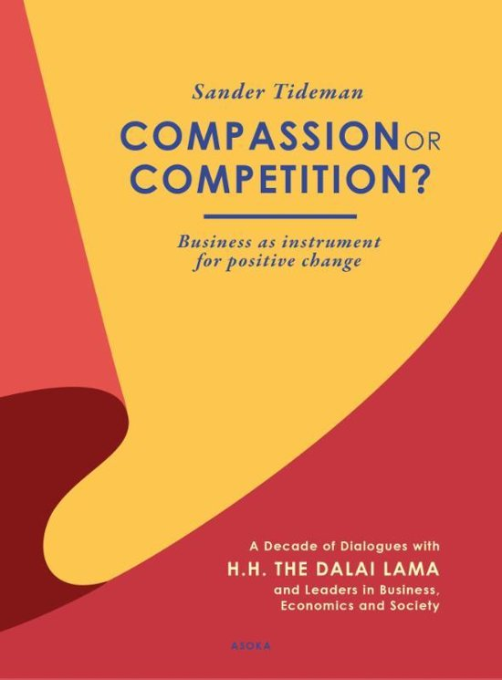 Boek cover Compassion or competition? van Sander G. Tideman (Onbekend)