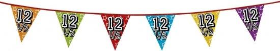 12,5 jaar vlaggenlijn glitters