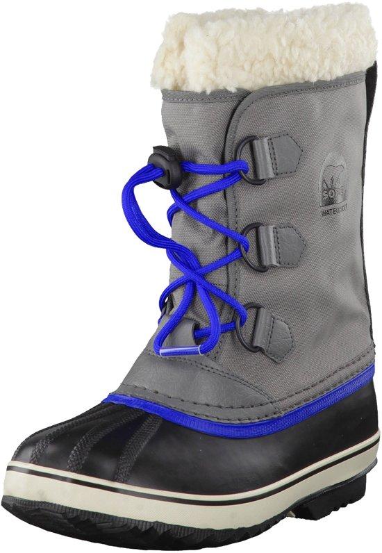 Sorel Yootó Enfants Nylon Pac Enfants Chaussures D'hiver Gris Noir Turquoise QUkyYUk