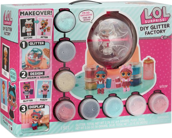 L.O.L. Surprise DIY Glitter Factory
