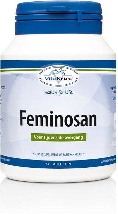 Vitakruid Feminosan - 60 tabletten - voedingssupplement