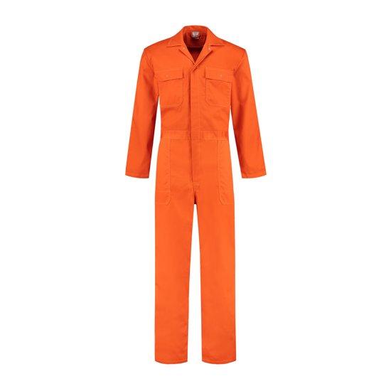 Yoworkwear Overall polyester/katoen oranje maat 50