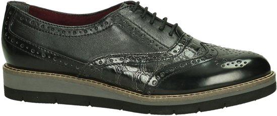 Tamaris Chaussures En Dentelle Noire - Femmes - Taille 42 htQgFd