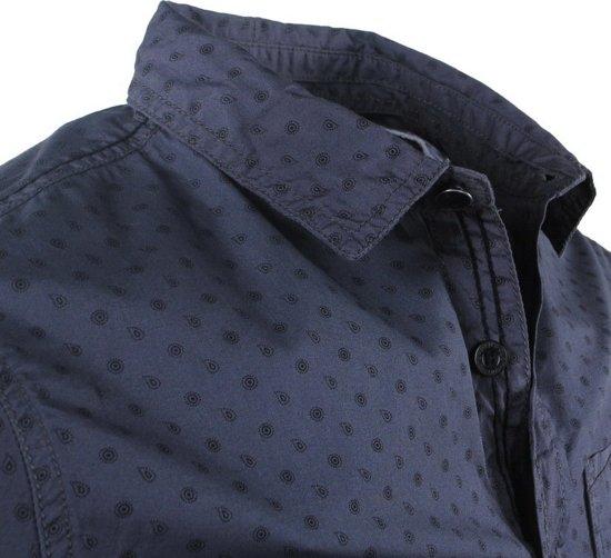 Mz72 Trendy Met Design Grijs Borstzak Overhemd Dolaros Heren t1Uxrt