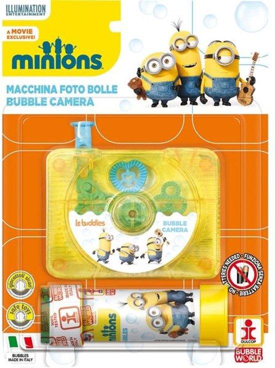 Minions Bubble Camera - Bellenblaas - 60ml