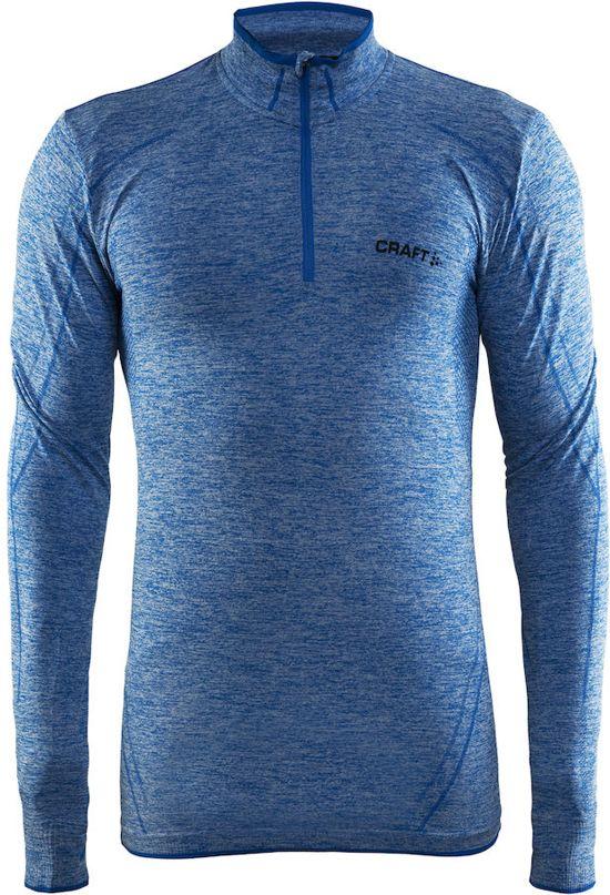 Craft Active Comfort Zip Sportshirt Heren - Sweden Blue