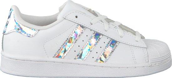 Adidas Meisjes Lage sneakers Superstar C Wit Maat 32