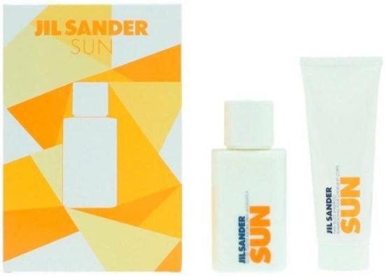 Jil Sander Sun 2-delige geschenkset eau de toilette 75 ml + Douchegel 75 ml