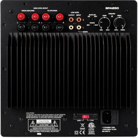 Dayton Audio SPA250 250 Watt Subwoofer Plate Amplifier in Val-Meer