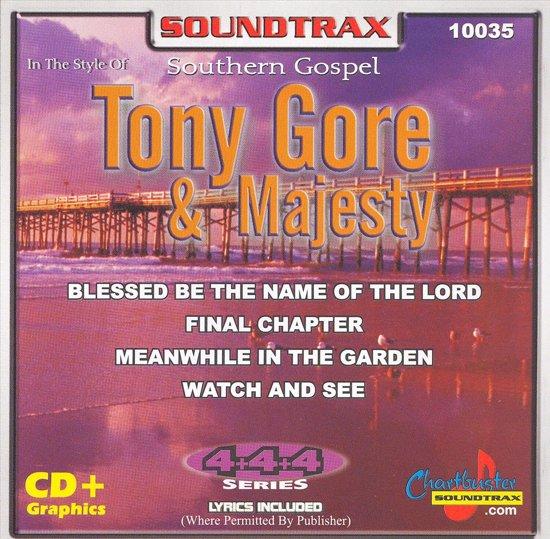 Chartbuster Karaoke: Southern Gospel Tony Gore & Majesty