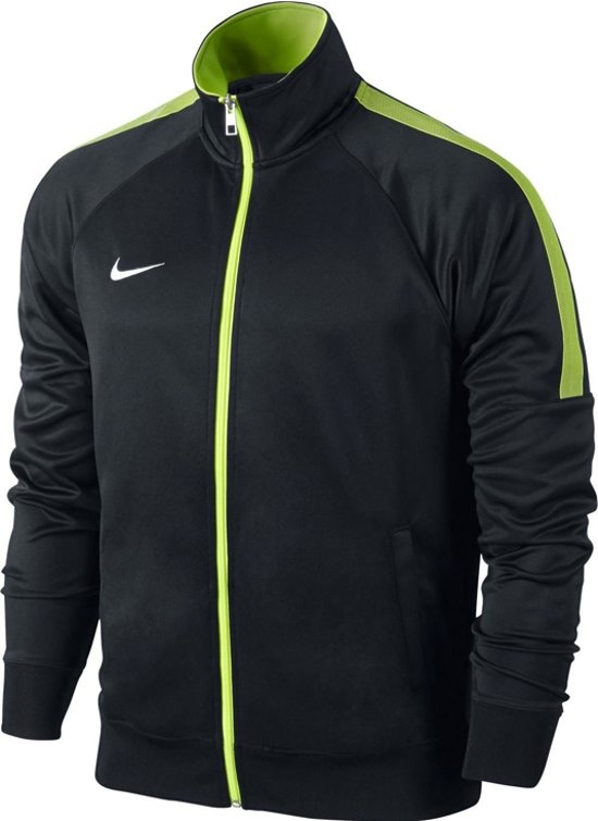 Nike Team Club Trainer 658683-011, Mannen, Zwart, Sporttrui casual maat: M EU