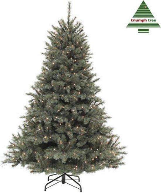 triumph tree forest frpine kunstkerstboom h185d130cm met energiezuinige led lampjes