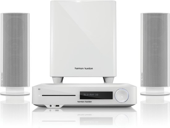 Harman Kardon BDS 485S - 2.1 Home home cinema set - Wit