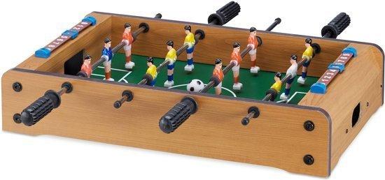 bol.com | relaxdays tafelvoetbaltafel - voetbalspel tafelmodel ...