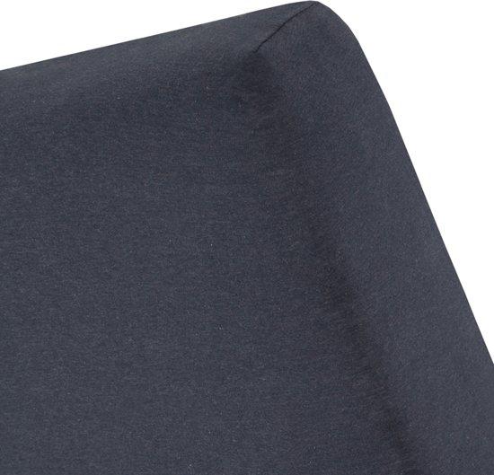 Cinderella - Hoeslaken (tot 25 cm) - Jersey Melange - 200 x210/220 cm - Anthracite