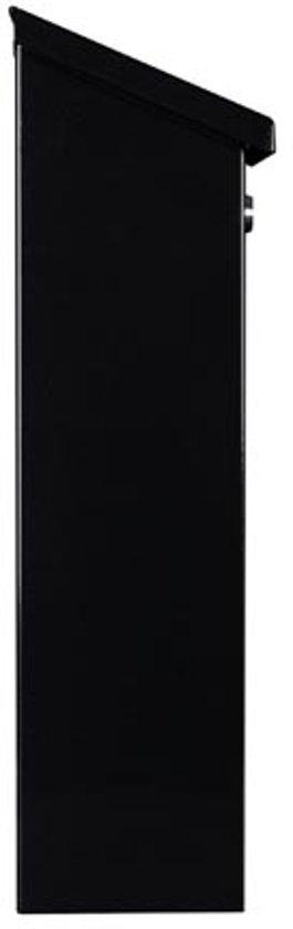 Brievenbus zwart 40 x 27 x 11 cm