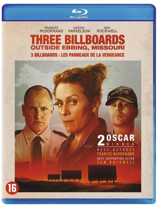 DVD cover van Three Billboards Outside Ebbing, Missouri (Blu-ray)