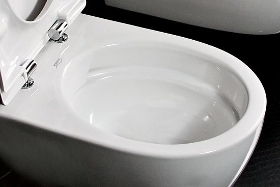 Toilet Zonder Spoelrand : Bol keramag icon rimfree toilet cm diep