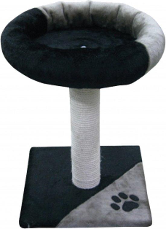 Duvo+ Krabpaal Flex - Krabpaal - 35 cm x 35 cm x 48 cm - Grijs