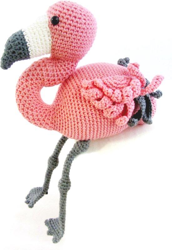 Bolcom Haakpakket Dier Coco Flamingo Hardicraft Speelgoed