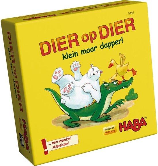 Afbeelding van het spel Supermini Spel - Dier op dier - Klein maar dapper (Nederlands) = Duits 4911 - Frans 5471