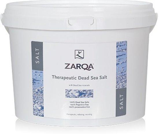 Zarqa Dode Zeezout Emmer Therapeutisch - 5 kg - Badzout