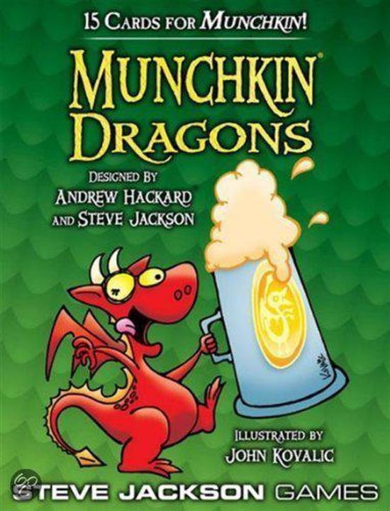 Afbeelding van het spel Munchkin Dragons booster pack d10