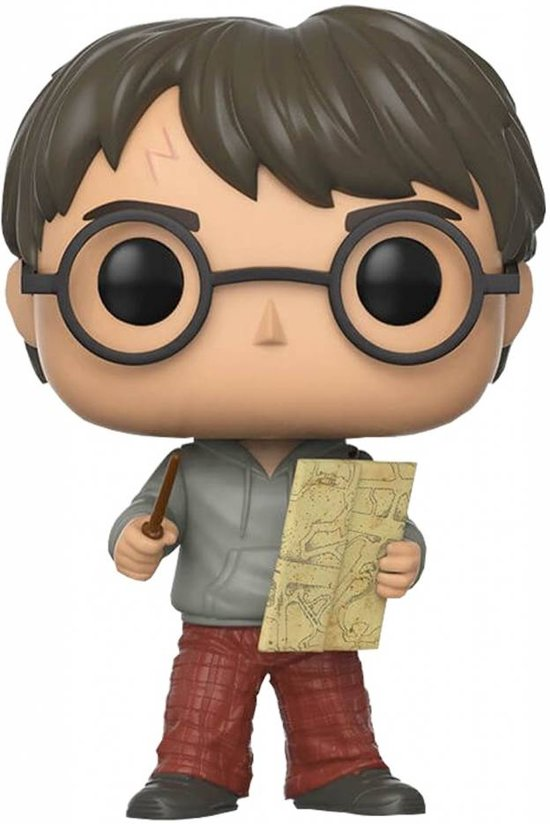 Funko Pop! Harry Potter: Harry With Marauders Map - Verzamelfiguur