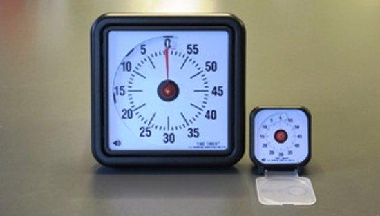 Adhome Therapieklok Timer  - chronometer klein 7,5 x 7,5 cm