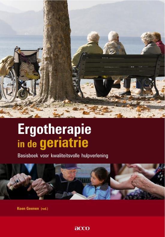 Ergotherapie in de geriatrie