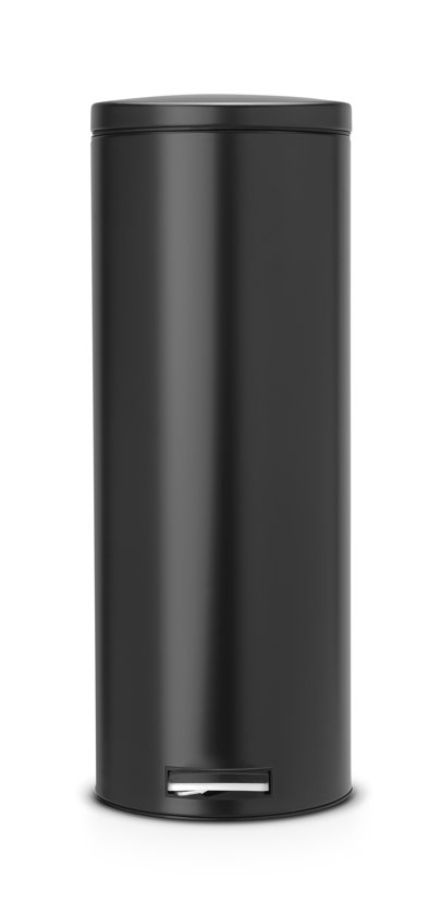 Brabantia Pedaalemmer 20l.Brabantia Silent Slimline Prullenbak 20 L Zwart