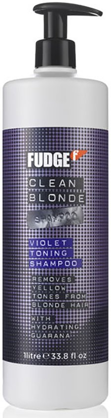 Fudge Clean Blonde Violet Toning Shampoo - 1000 ml
