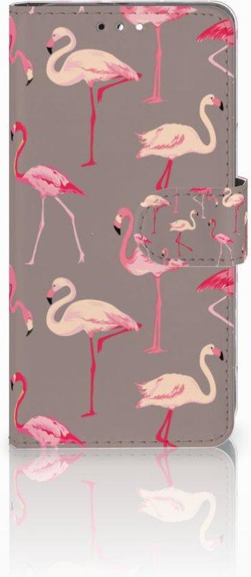 Huawei Honor 9 Uniek Design Hoesje Flamingo's in Rietveld