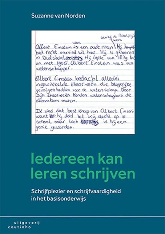 Iedereen kan leren schrijven - Suzanne van Norden