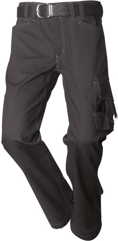 Tricorp Worker canvas - Workwear - 502007 - Donkergrijs - maat 58