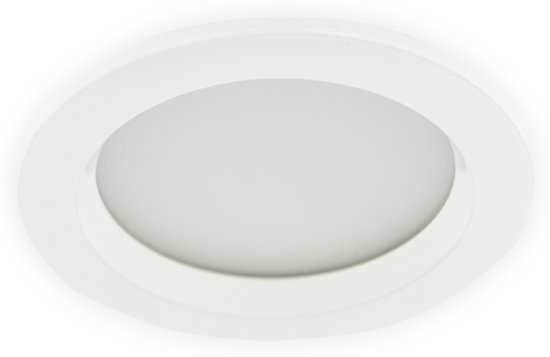 bol.com | LED Inbouwspot 3W, Wit, Rond, Waterdicht IP65, Badkamer