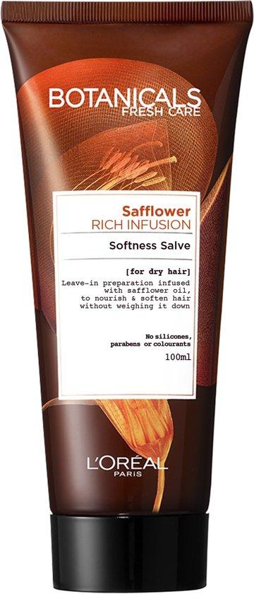 L'Oréal Paris Botanicals Safflower Rich Infusion Haarcrème - 100 ml - Droog Haar