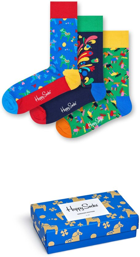 Happy Socks Swedish Edition Giftbox - Maat 41-46