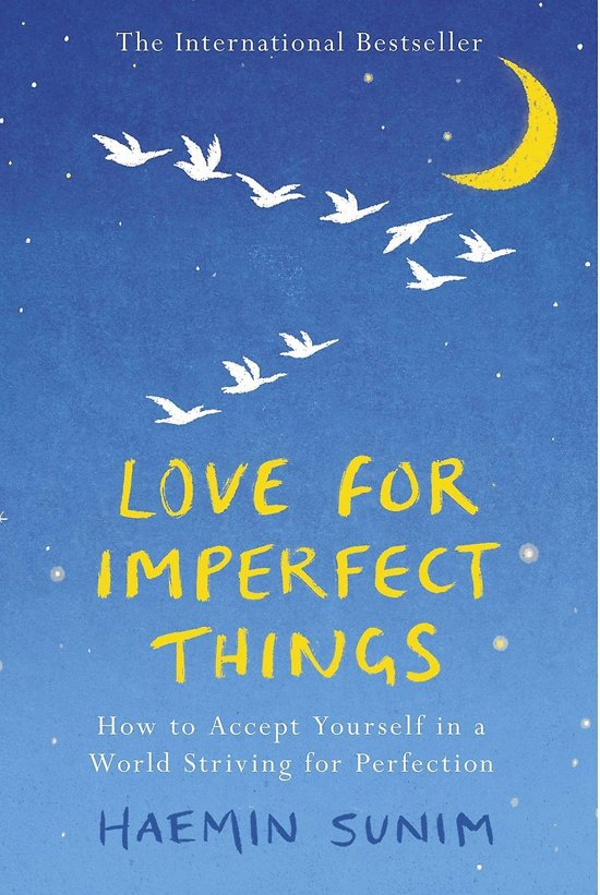 Boek cover Love for Imperfect Things van Haemin Sunim (Paperback)