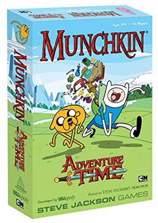 Afbeelding van het spel Munchkin: Adventure Time (Engelse Versie)