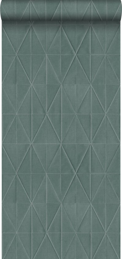 Voorkeur bol.com   ESTAhome behang origami motief petrolblauw - 148712 PI05