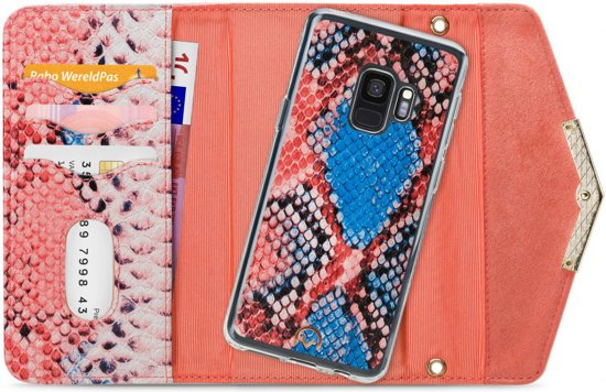 Mobilize Velvet Clutch for Samsung Galaxy S9 Coral Snake
