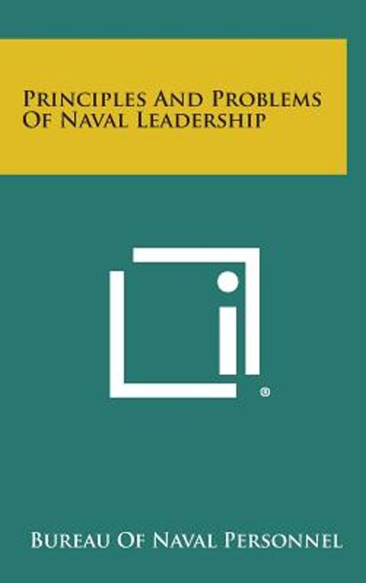 Principles and Problems of Naval Leadership
