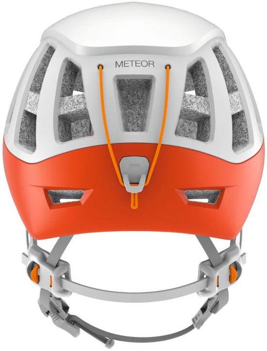 Petzl Meteor zeer lichte en comfortabele klimhelm Oranje S/M Maat 1