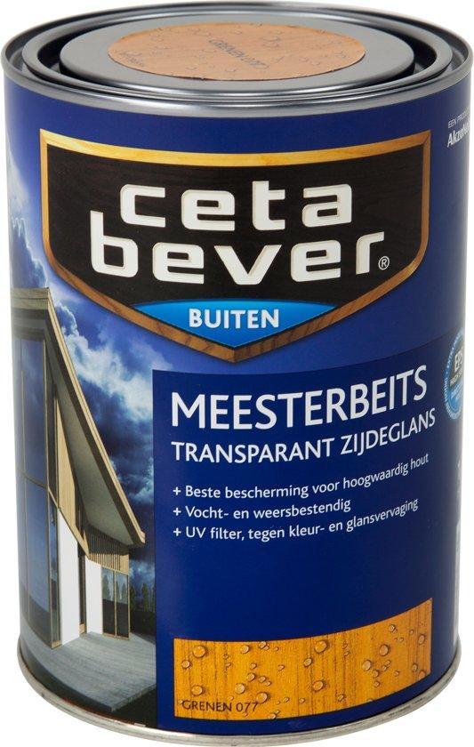Kleuren Cetabever Meesterbeits.Bol Com Cetabever Transparante Meesterbeits 1 25 Liter Grenen