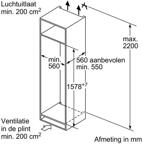 Bosch KIS77AD40