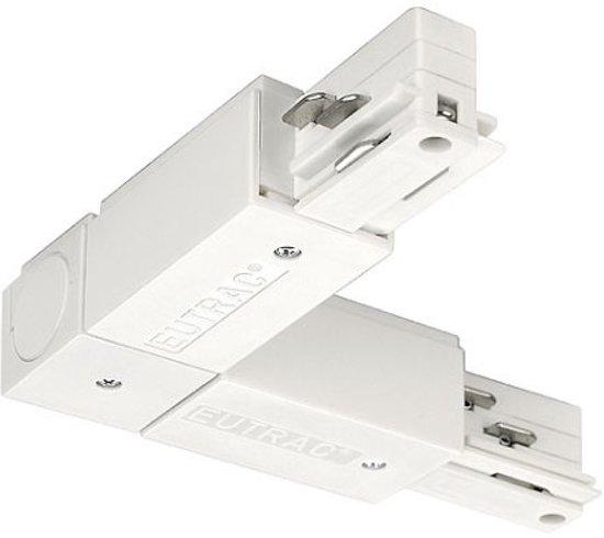 145681, Hochvolt-Schienensystem-Komponente Eckverbinder Weiß