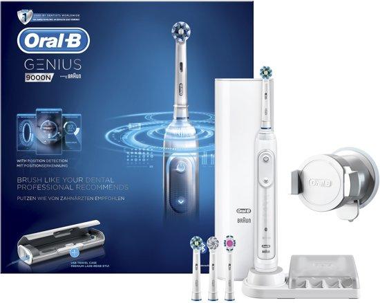 Oral-B Genius 9000N Wit - Elektrische Tandenborstel