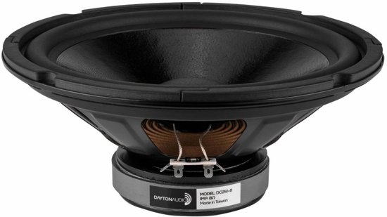 Dayton Audio DC250-8 10 Classic Woofer