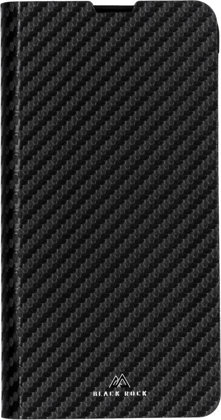 Black Rock Flex Carbon Booktype hoesje voor de Samsung Galaxy S10e - Zwart